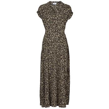 textil Dam Långklänningar Betty London PARILLA Svart / Flerfärgad