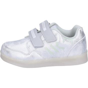 Skor Flickor Sneakers Lumberjack BH64 Silver