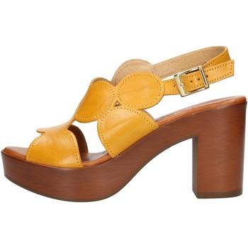 Skor Dam Sandaler Made In Italia 023 Yellow