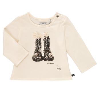 textil Flickor Långärmade T-shirts Ikks PAON Vit