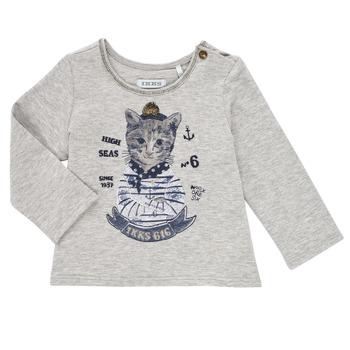 textil Flickor Långärmade T-shirts Ikks PERSAN Grå
