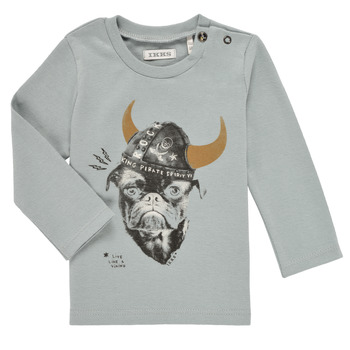 textil Pojkar Långärmade T-shirts Ikks CHAUDRON Blå
