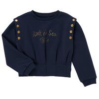 textil Flickor Sweatshirts Ikks GRENAT Marin