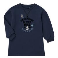 textil Flickor Sweatshirts Ikks MANDARINE Marin