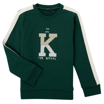 textil Pojkar Sweatshirts Ikks SINOPLE Kaki