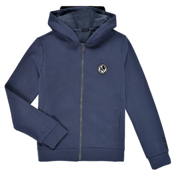 textil Pojkar Sweatshirts Ikks TERRE D'OMBRE Marin