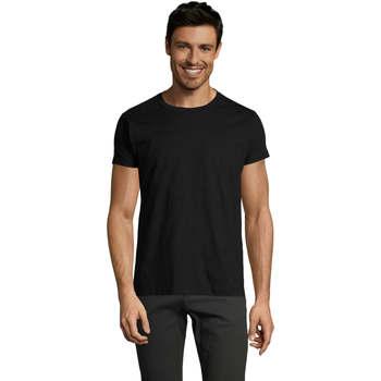 textil Herr T-shirts Sols Camiseta IMPERIAL FIT color Negro Negro