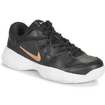 Skor Dam Sneakers Nike WMNS NIKE COURT LITE 2 Svart / Brons