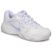 Skor Dam Sneakers Nike WMNS NIKE COURT LITE 2 Vit / Silverfärgad
