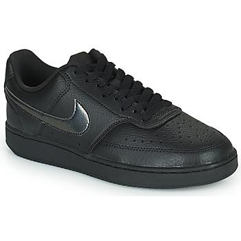 Skor Dam Sneakers Nike WMNS NIKE COURT VISION LOW Svart