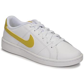 Skor Dam Sneakers Nike WMNS NIKE COURT ROYALE 2 Vit / Guldfärgad