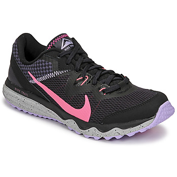 Skor Dam Löparskor Nike WMNS NIKE JUNIPER TRAIL Svart / Rosa
