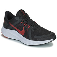 Skor Herr Löparskor Nike NIKE QUEST 4 Svart / Röd