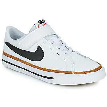 Skor Barn Sneakers Nike NIKE COURT LEGACY (PSV) Vit / Svart