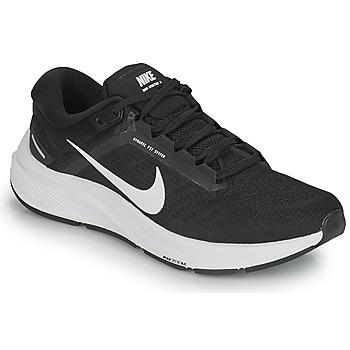 Skor Herr Löparskor Nike NIKE AIR ZOOM STRUCTURE 24 Svart / Vit