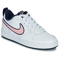 Skor Barn Sneakers Nike COURT BOROUGH LOW 2 SE1 (GS) Vit / Rosa