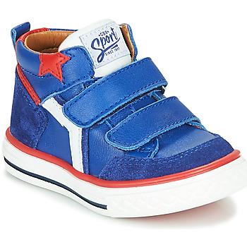 Skor Pojkar Höga sneakers GBB FLAVIO Blå