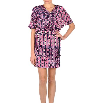 textil Dam Korta klänningar Stella Forest YRO059 Marin / Rosa