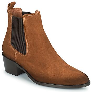 Skor Dam Boots Fericelli PAMINA Tan (mellanbrun)