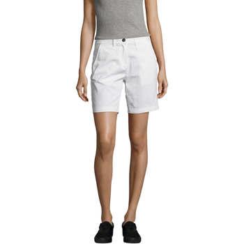 textil Dam Shorts / Bermudas Sols Jasper women shorts bermudas Blanco