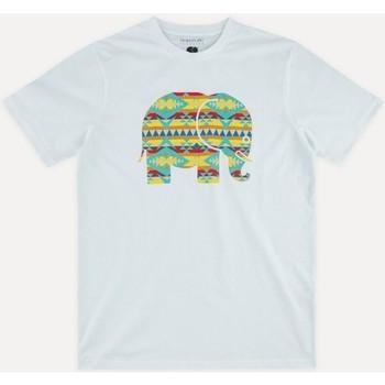 textil Herr T-shirts Trendsplant NAVAJO 029940MNAV Vit