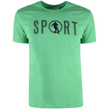 textil Herr T-shirts Bikkembergs  Grön