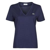 textil Dam T-shirts Lacoste LOUIS Marin