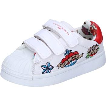 Skor Flickor Sneakers Silvian Heach BH156 Vit