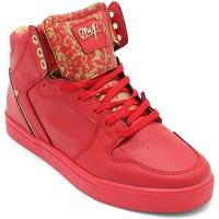 Skor Herr Höga sneakers Cash Money Heren Sneakers Majesty Red Gold  Rood Röd
