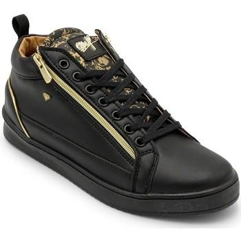 Skor Herr Höga sneakers Cash Money Heren Sneaker Majesty Black Zwart Svart