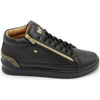 Skor Herr Höga sneakers Cash Money Heren Sneaker Cesar Full Black Zwart Svart