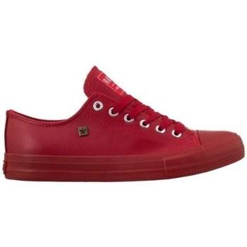 Skor Herr Sneakers Big Star V174348 Röda