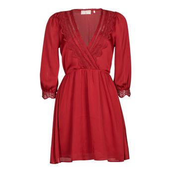 textil Dam Korta klänningar Moony Mood ABIDOSE Röd