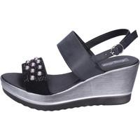 Skor Dam Sandaler Fascino Donna BH167 Svart