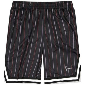 textil Herr Shorts / Bermudas Karl Kani Short  Small Signature Pinstripe Mesh noir/bleu/rouge