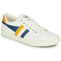 Skor Herr Sneakers Gola GOLA TENNIS MARK COX Vit / Blå / Gul