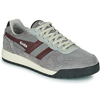 Skor Herr Sneakers Gola GOLA TREK LOW Grå / Bordeaux