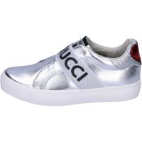 Skor Flickor Slip-on-skor Fiorucci Sneakers BH178 Silver