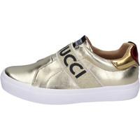 Skor Flickor Slip-on-skor Fiorucci Sneakers BH179 Guldfärgad
