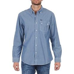textil Herr Långärmade skjortor Lee Cooper Greyven Blå