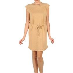 textil Dam Korta klänningar Majestic CAMELIA Beige