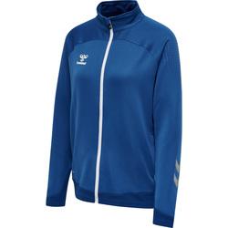 textil Dam Sweatjackets Hummel Veste zippée femme  hmlLEAD poly bleu