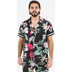 textil Herr Kortärmade skjortor Sixth June Chemise  tropical noir