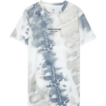 textil Herr T-shirts Sixth June T-shirt  tie dye beige