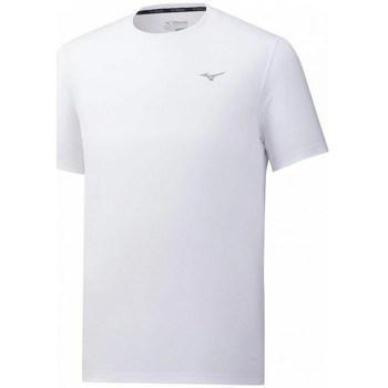 textil Herr T-shirts Mizuno Impulse Core Tee Vit