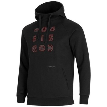 textil Herr Sweatshirts 4F BLM014 Svarta