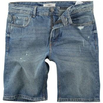 textil Herr Shorts / Bermudas Produkt BERMUDAS VAQUERAS HOMBRE  12167538 Blå