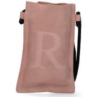 Väskor Dam Handväskor med kort rem Luna Collection 57799 rosa