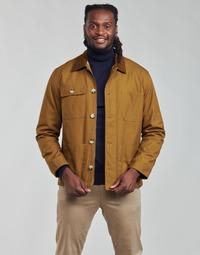 textil Herr Vindjackor Selected SLHSUST Brun