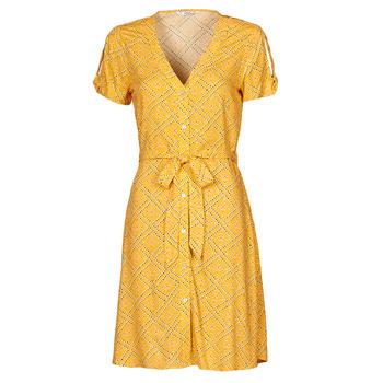 textil Dam Korta klänningar Only ONLVIOLETTE Orange